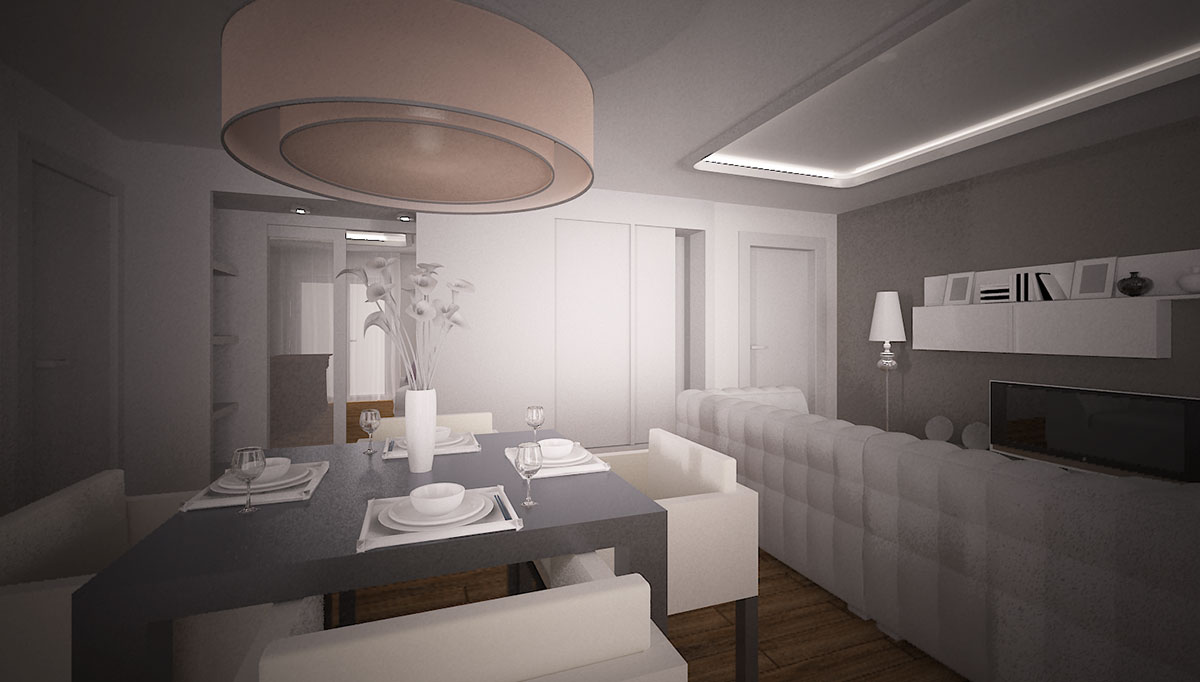 Condominio Drago - Render appartamento